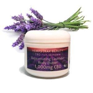 Hempstrax Beauty Lavender Lotion