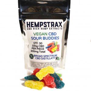 Hempstrax Vegan Sour Buddies